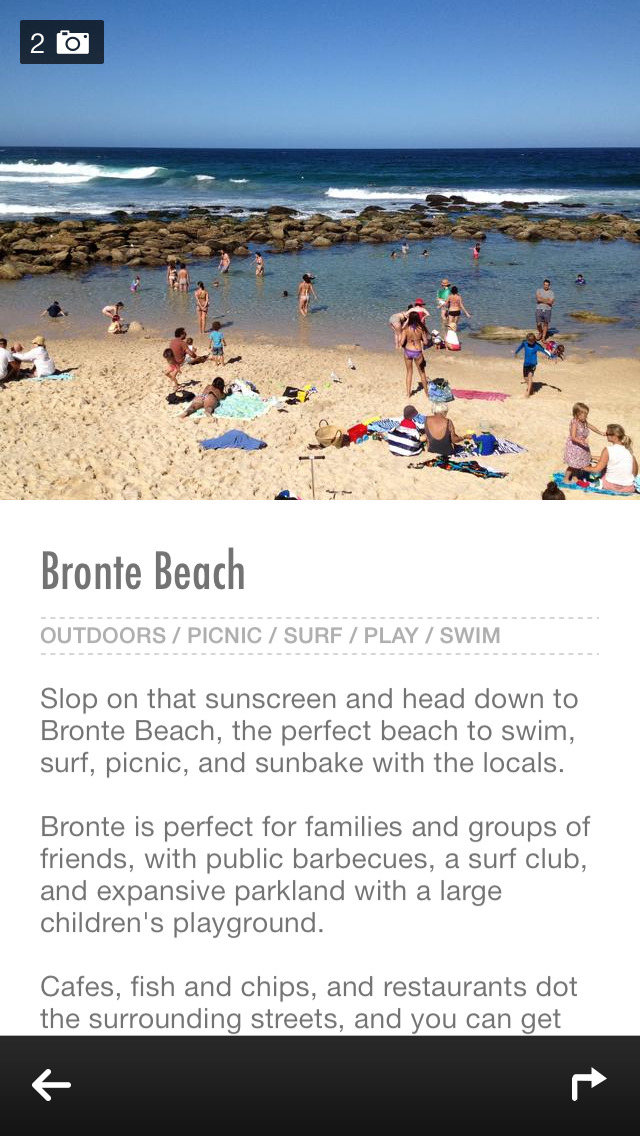 Sydney Urban Adventures - Travel Guide Treasure mApp screenshot 3