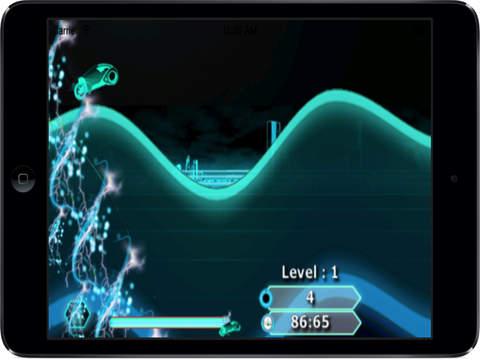 Neon Lights Race : Electronic Moto Chase War screenshot 8