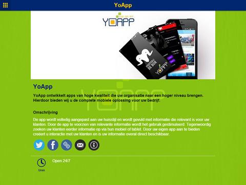 YoApp - náhled