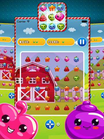 Jelly Gem Mania - Fun Puzzle Game screenshot 8