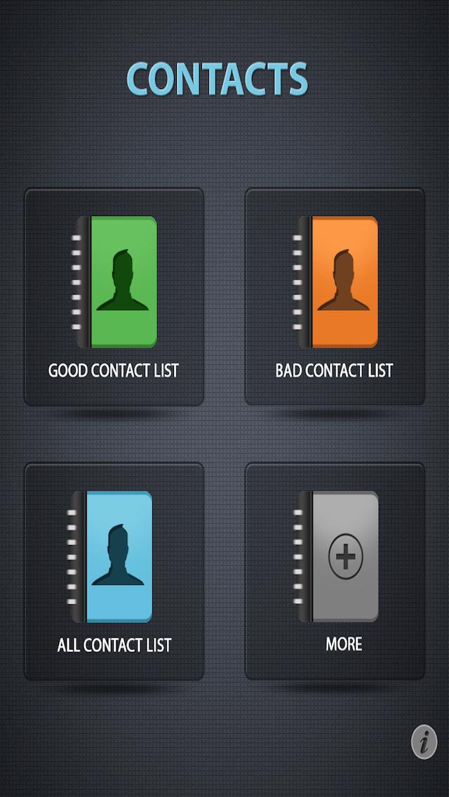 Easy Contacts# Tool Lite screenshot 2
