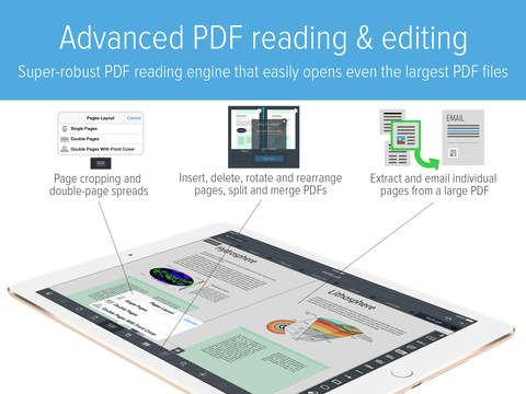 GoodReader - PDF Reader, Annotator and File Manager screenshot #5