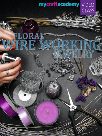 Floral Wire Working Jewelry screenshot 6
