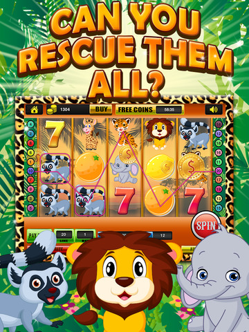 Ace Classic Vegas Baby Tiger Slots - Lucky Safari Gambling Casino Slot Machine Games Free screenshot 6