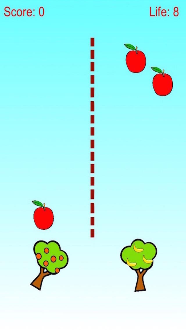 Apple and Banana Defense - Tree Shoot Fruit screenshot 1