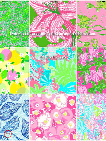 Wallpaper for Lilly Pulitzer Design HD and Quotes Backgrounds Creator with Best Prints and Inspiration screenshot 10
