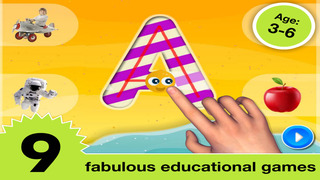 Letter quiz • Alphabet School & ABC Games 4 Kids screenshot 2