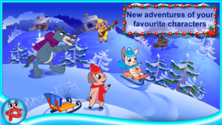 Christmas Night: Three Little Pigs Free Adventure screenshot 4