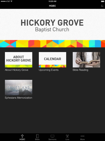 Hickory Grove Baptist Church screenshot 4