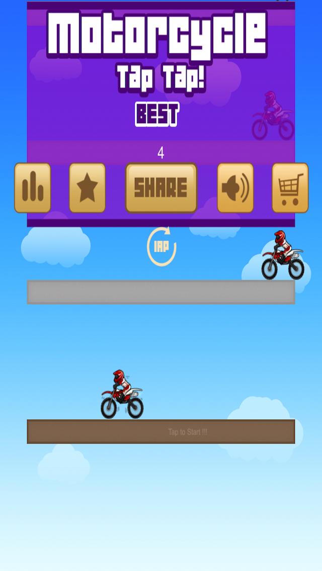 Motorcycle TAP TAP screenshot 1