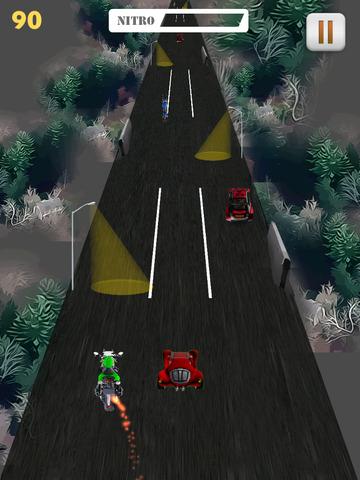 Motor Bike Night Rally Pro - Nitro Boost screenshot 8