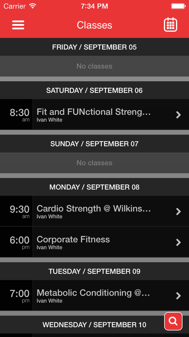 Synergy Fitness by Ivan screenshot #2