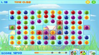 Easter Bunny Eggs - Free Match-3 Chocolate Egg Hunt screenshot 2