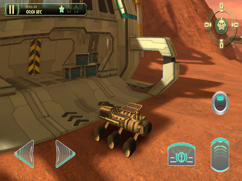 3D Mars Parking - Red Planet Space Moon Mission Rover Vehicles Simulator Driving Games screenshot 10