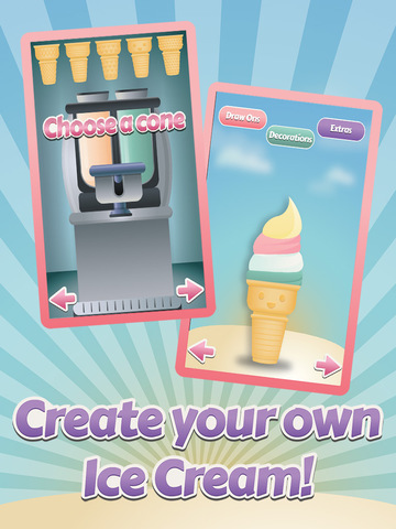 Awesome Delicious Ice Cream Frozen Dessert Food Maker Free screenshot 3