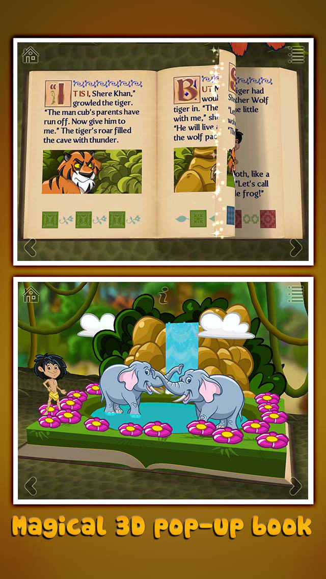 StoryToys Jungle Book screenshot 1