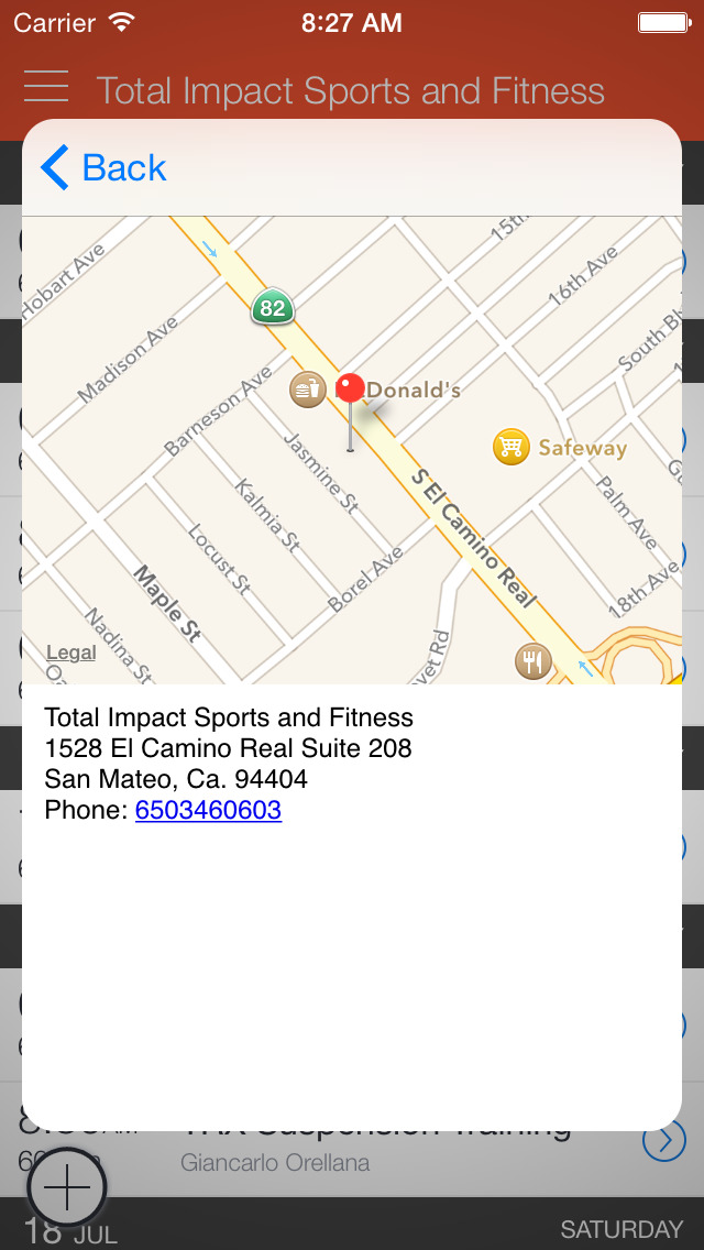 Total Impact Sports & Fitness screenshot 2