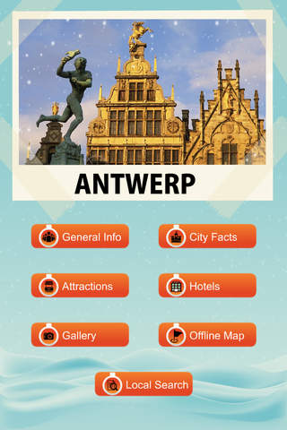 Antwerp Travel Guide - Offline Maps - náhled
