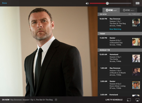 Showtime Anytime screenshot 7