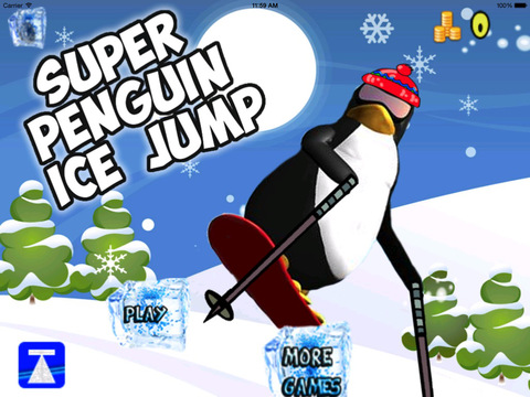 Super Penguin Ice Jump PRO screenshot 10