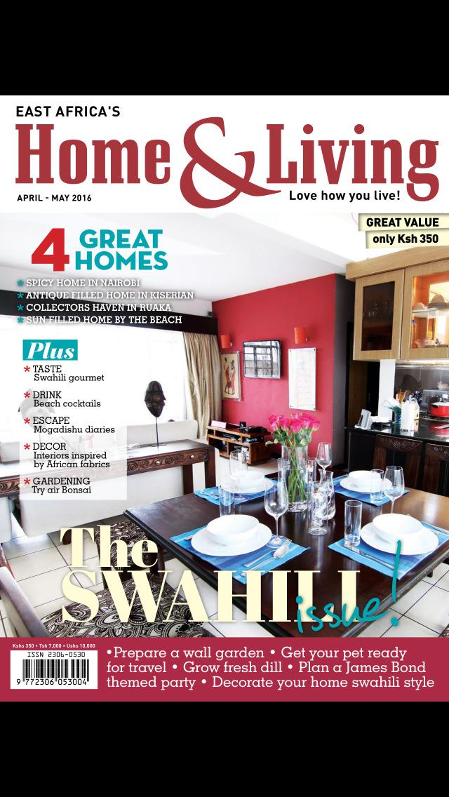 HOME & LIVING East Africa Mag screenshot 1
