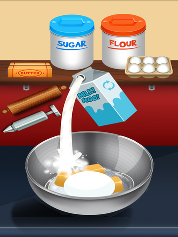 Awesome Donut Ice Cream Cake Breakfast Shop Maker screenshot 9