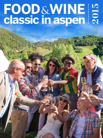 FOOD & WINE Classic in Aspen screenshot 3