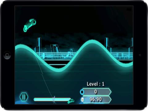 Neon Lights Race : Electronic Moto Chase War screenshot 7