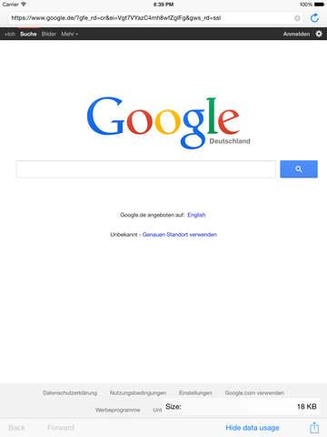 magnet – Web browser - náhled