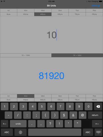 Bit Units screenshot 9