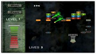 Real Blocks : Space Strike Delta Force screenshot 2