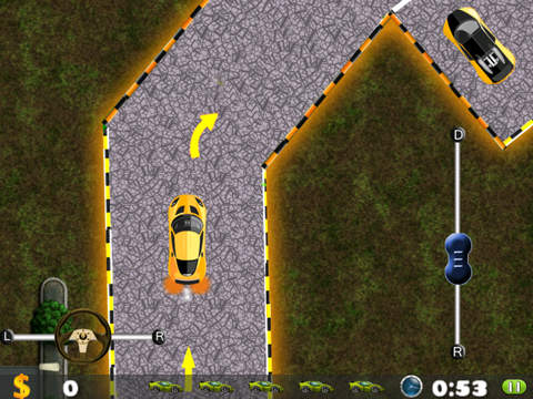 Awesome Racing Car Parking Mania Pro - play cool virtual driving game screenshot 4