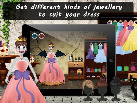 Spooky Princess Dress Up Lite screenshot 7