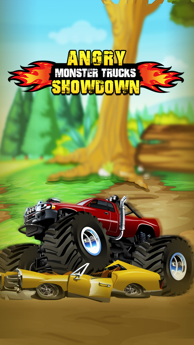 Angry Monster Truck Showdown Pro screenshot 1