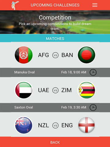 ICC Cricket World Cup 2015 Fantasy Cricket screenshot 10