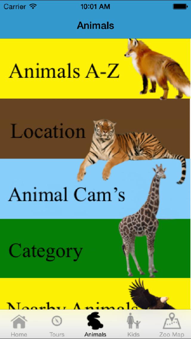 Guide for Smithsonian's National Zoo screenshot 1