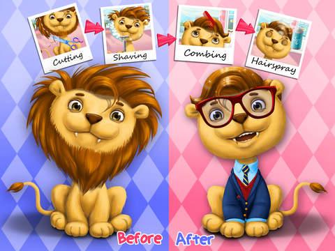 Animal Hair Salon - Kids Game screenshot 9