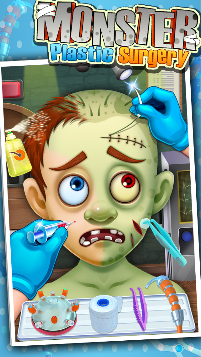 Monster's Plastic Surgery Simulator - Surgeon Games screenshot 1