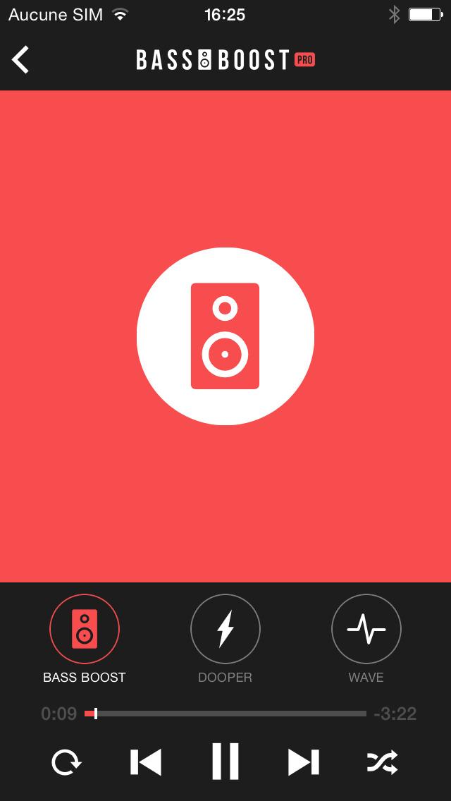 Bass Booster Pro - Volume Power Amp & Music Player screenshot 3