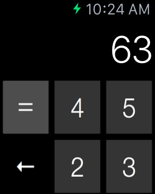 Cruncher - Watch Calculator screenshot 5