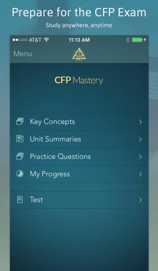 CFP Mastery screenshot 2