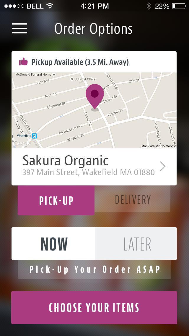 Sakura Organic screenshot 2