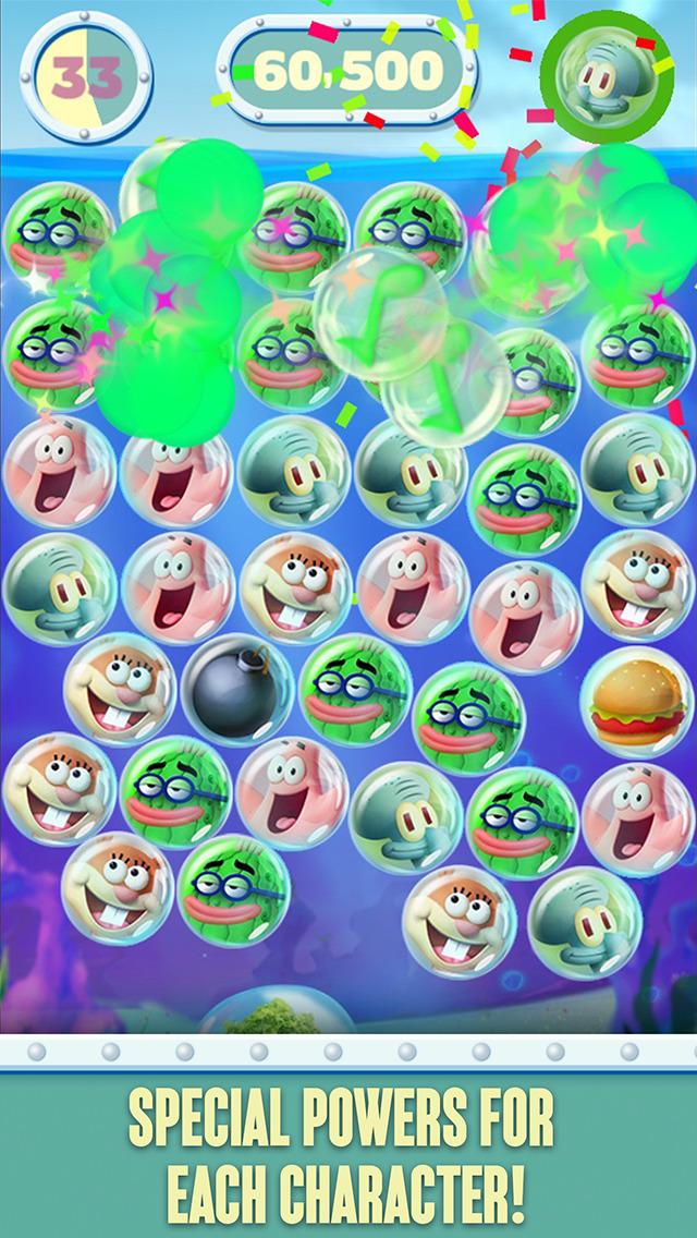 SpongeBob Bubble Party screenshot 4