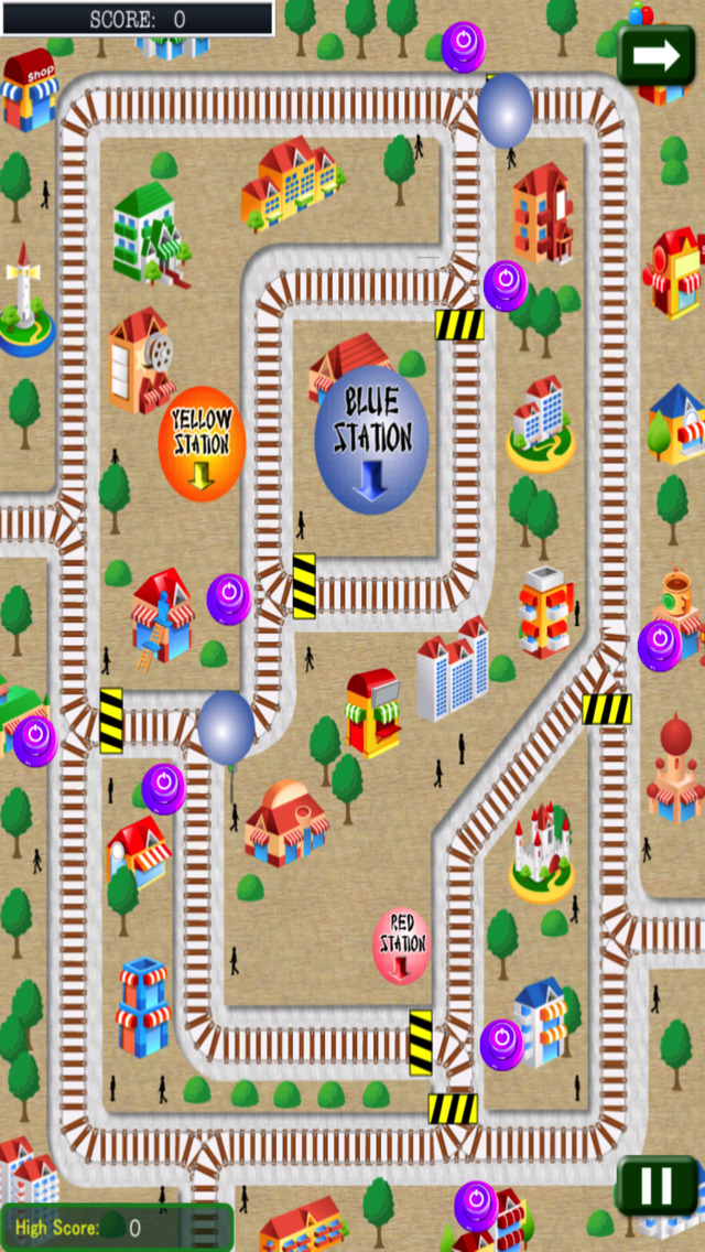 Top Traffic Ball screenshot 3