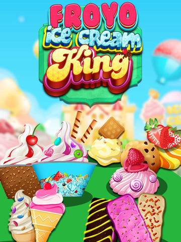 """ A Froyo King Mogul – Frozen Yogurt Customizer Dessert Maker Mania Free screenshot 6"