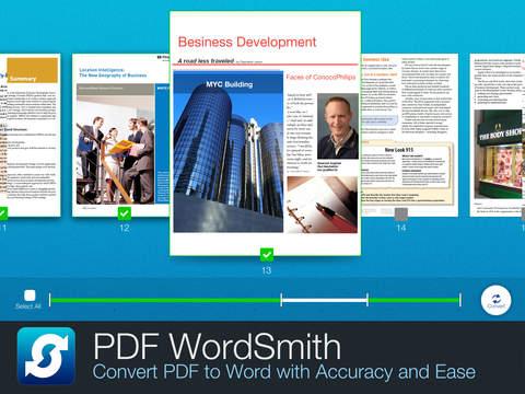 PDF WordSmith - Convert PDF to Word, HTML and TXT screenshot 6