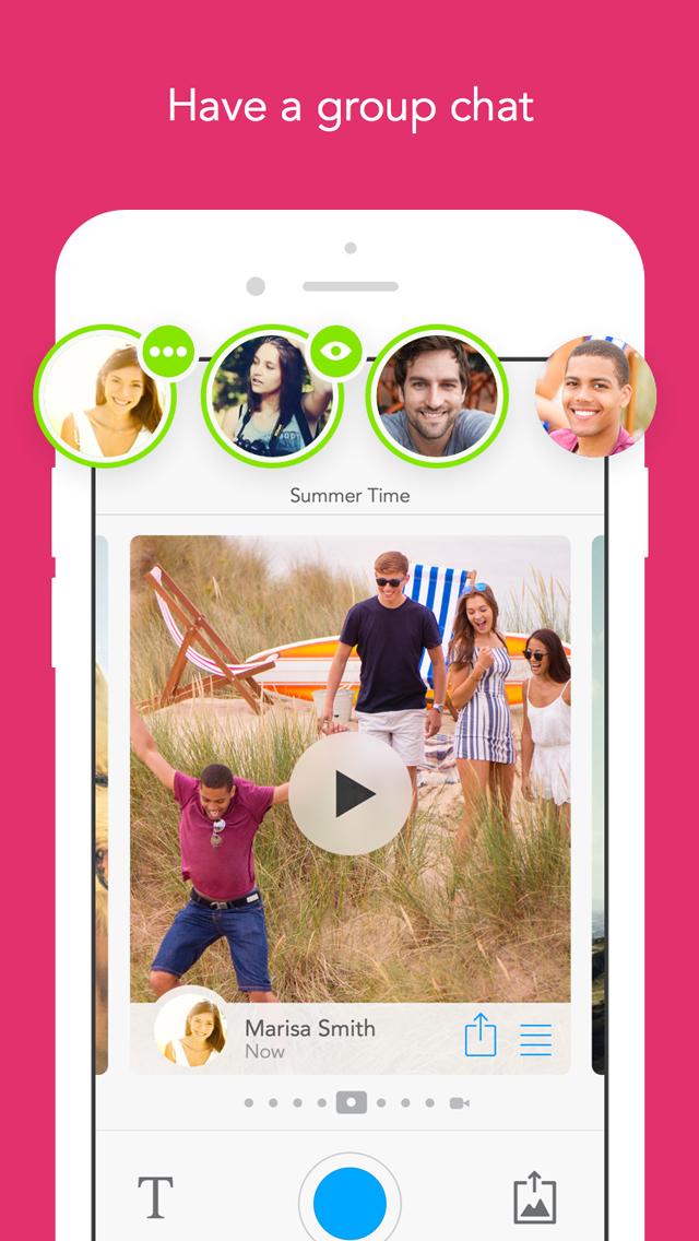 Glide - Live Video Messenger screenshot 4