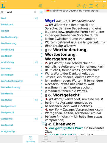 German Learner's Dictionary screenshot 10