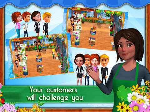 Garden Shop: Rush Hour! screenshot 8