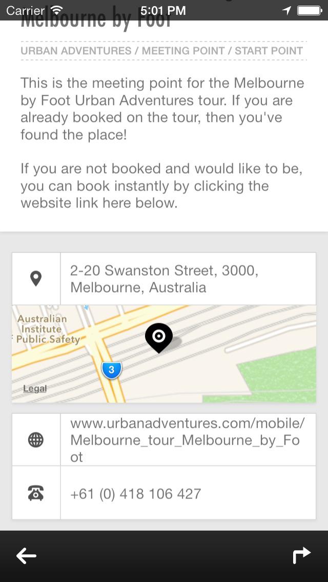 Melbourne Urban Adventures - Travel Guide Treasure mApp screenshot 4